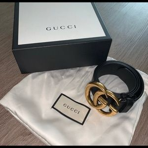 AUTHENTIC 100% GUCCI BELT 36 inches LBN